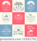 Vector Set of Badges, Logos and Sign Break Dance 31692702
