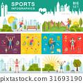 Vector Set Sport Infographic 31693190