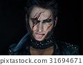 Professional make-up werewolf Wolverine 31694671