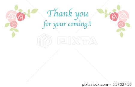 感谢卡(玫瑰) 31702419