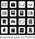 books, icon, vector 31704658