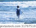 サーファー 海 31707510