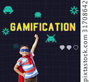 Game Play Entertainment Fun Relax Leisure Graphic 31708642
