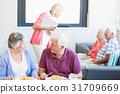 70幾歲 年長 老年人 31709669