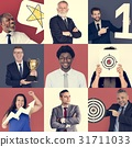Collage of Diverse Group of Business People 31711033