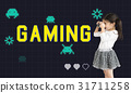 Game Play Entertainment Fun Relax Leisure Graphic 31711258