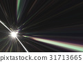 Abstract light of speed motion on the space 31713665