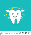 cute angelic tooth 31714511