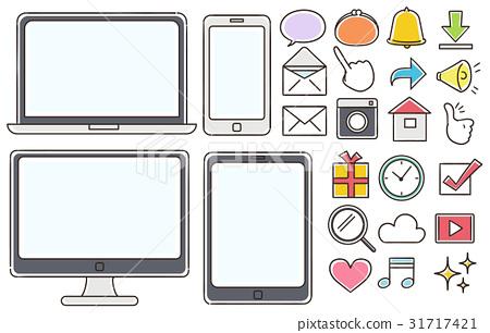 手机 智能手机 个人电脑 31717421