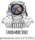 宇航员 猫 猫咪 31722051