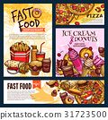 fast, food, banner 31723500