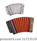 accordion musical instrument 31723519