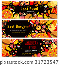 fast, food, banner 31723547