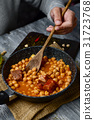spanish cocido madrileno, stew typical of madrid 31723768