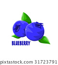 logo icon design Blueberry farm 31723791