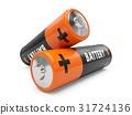 battery, 3d, batteries 31724136