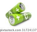 battery, green, batteries 31724137