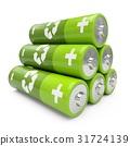 battery, green, batteries 31724139
