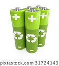 battery, green, batteries 31724143
