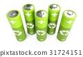 battery, green, batteries 31724151