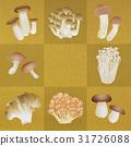 蘑菇 蟹味菇 松茸蘑菇 31726088