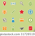 Contacts simply icons 31726519