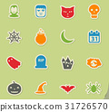 Halloween simply icons 31726570