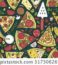 披薩 向量 向量圖 31730626