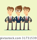 Group portrait of a professional business team 31731539