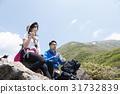 mountain, climbing, trekking 31732839