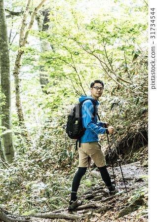 Mountaineering trekking image 31734544