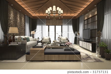 tropical suite living reception and lounge 31737131