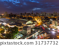 Cityscape And Traffic On Road Near At Bangkok 31737732