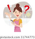 homemaker, youthful, kitchen 31744773
