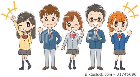 高中生 團隊 小組 31745096