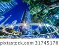Night view of city 31745176