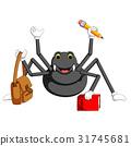 Cute spider cartoon 31745681