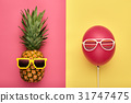pineapple, fashion, summer 31747475