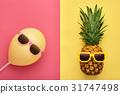 pineapple, fashion, summer 31747498