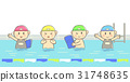 aquatic, swimming, lesson 31748635