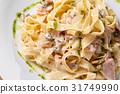 bacon, carbonara, italian 31749990