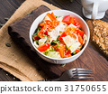 Colorful vegetable salad bowl 31750655