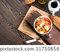 Colorful vegetable salad bowl 31750656