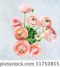 Beautiful pink ranunculus bouquet 31750855