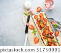 cheese, cake, strawberry 31750991