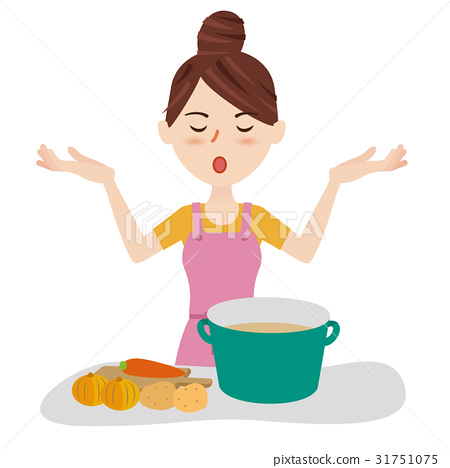 homemaker, youthful, kitchen 31751075