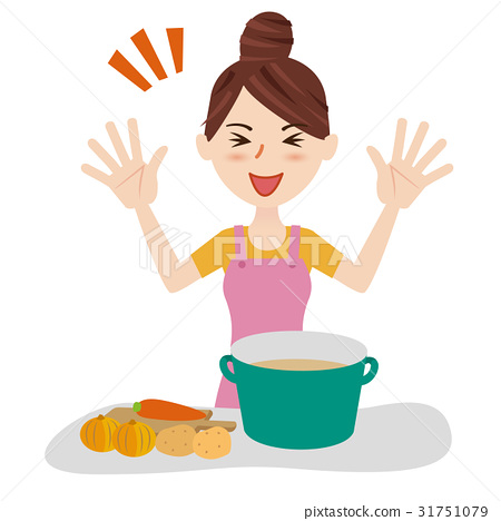 homemaker, youthful, kitchen 31751079