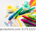 Stationery colorful school writing tools pens 31751222