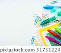 stationery pen colorful 31751224