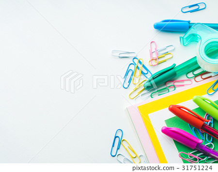 Stationery colorful school writing accessories 31751224